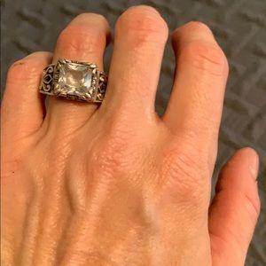 Silbada sterling ring .